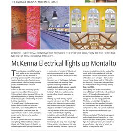 The Carriage Rooms at Montalto, Northern Builder Magazine