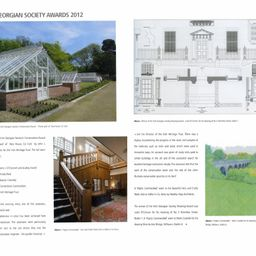 Fota C19th Glasshouses Restoration, Perspective Magazine
